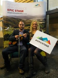 Helping make the Highlands an #EpicStage with The Touring Network